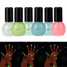 12 Colors Makeup Fluorescent Luminous Gel Candy Color Nail Polish 3#