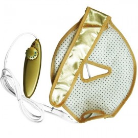 Infrared Face-Lift Mask Eliminating Edema Hot Heat Facial Mask Golden