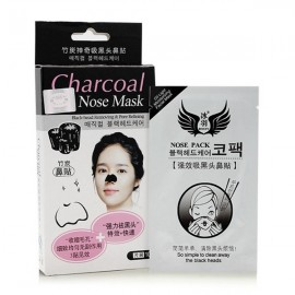 10pcs Charcoal Blackhead Remove Removal Nose Mask Strip Sticker Pores Cleaning