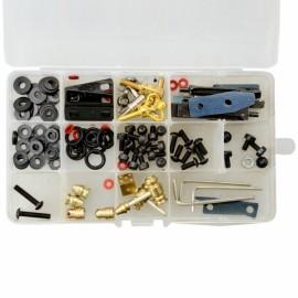 Tattoo Machine Parts Shim Washers Wrench Contact Rod Set