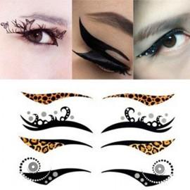 4-in-1 Sexy Fashionable Tattoo Eyelid Transfer Eyeliner Sticker HSB 019