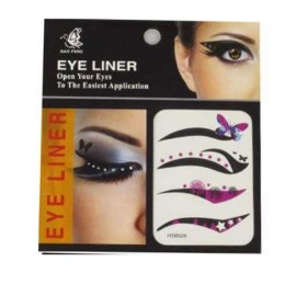 4-in-1 Sexy Fashionable Tattoo Eyelid Transfer Eyeliner Sticker HSB 026