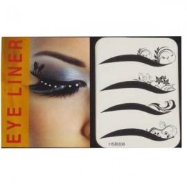 4-in-1 Sexy Fashionable Tattoo Eyelid Transfer Eyeliner Sticker HSB 008
