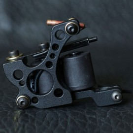 Panther XHJ008A 10-Coil Shader Tattoo Machine Black
