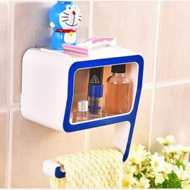Creative Number 9 Soap Storage Rack Comestic Bathroom Supplies Organizer Home Decoration Blue