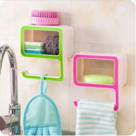 Creative Number 9 Soap Storage Rack Comestic Bathroom Supplies Organizer Home Decoration Pink