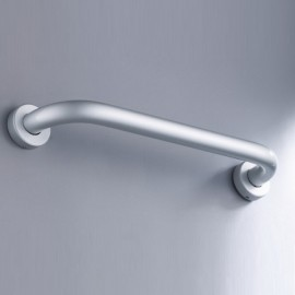 25 x 300mm Stainless Steel Bathroom Wall Grab Bar Safety Grip Handle Towel Rail Shelf Matte Silver