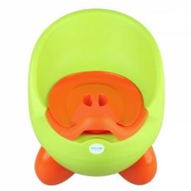 Lovely Egg Kids Toilet Potty Removable Toilet Training Girls Boys Bathroom Defecate Trainer Green