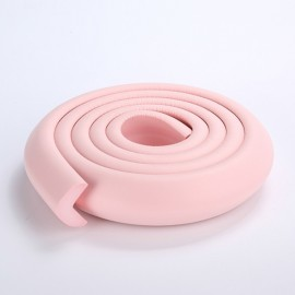 200CM L-Shaped Glass Table Corner Protector Edge Cushion Baby Safety Guard Pink