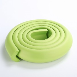 200CM L-Shaped Glass Table Corner Protector Edge Cushion Baby Safety Guard Green
