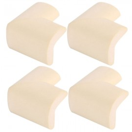 4pcs Soft Thicken Safety Baby Table Corner Cushion Protectors Beige