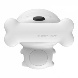 New Creative Bedside Lamp Puppy Bone Promise Dimming Timing Touch Charge Control Gift Touch Induction Night Light Ambient Light White