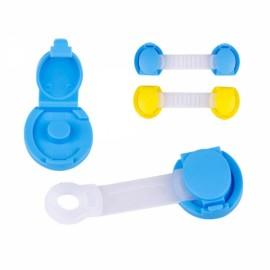 New Baby Kids Child Safety Cabinet Door Cupboard Fridge Drawer Wardrobe Lock Blue