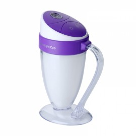 Moonlight Cup Handheld LED Light Humidifier USB Ultrasonic Air Purifier Mist Maker Atomizer Purple