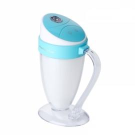 Moonlight Cup Handheld LED Light Humidifier USB Ultrasonic Air Purifier Mist Maker Atomizer Blue