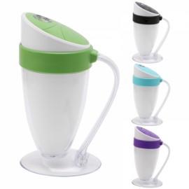 Moonlight Cup Handheld LED Light Humidifier USB Ultrasonic Air Purifier Mist Maker Atomizer Green