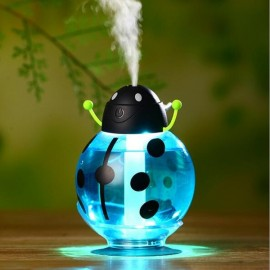 New Beatles Ultrasonic Humidifier USB Car Humidifier Mini Aroma Essential Oil Diffuser Aromatherapy Mist Maker Home Office Blue