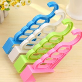 Multi-function Door Hanger Sundries Clothes Hook without Nail Random Color