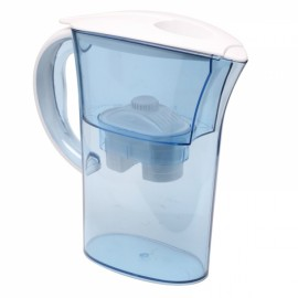 Household Water Purifier Direct Drinking Water Jug Alkaline Water Filter Pitcher 2.5L Light Blue