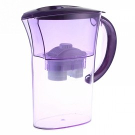 Household Water Purifier Direct Drinking Water Jug Alkaline Water Filter Pitcher 2.5L Purple