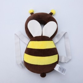 Baby Head Protection Pad Toddler Headrest Pillow Cute Wings Nursing Drop Resistance Cushion Bee Shape