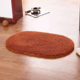 Soft Floor Mat Oval Bedroom Carpet Area Rug for Living Room Coffee