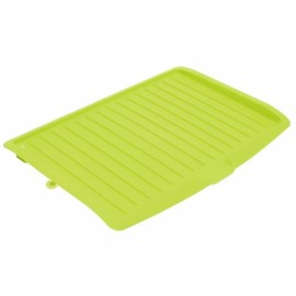 Dishes Sink Drain Pallets Plastic Filter Plate Storage Rack Kitchen Vegetable Fruit Shelving Board Green