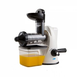 Household Hand Operated Manual Juice Extractor Fruit Juicer Maker Orange White