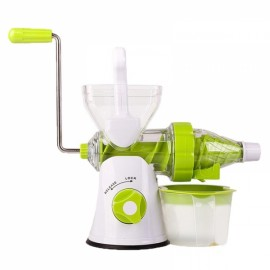Fruit Vegetable Tools Plastic Multifunctional Fruit Squeezer White