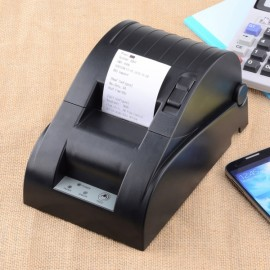 YOKO 58DB-4 Portable Bluetooth Wireless Receipt Thermal Desktop Printer for Android and IOS EU Plug Black