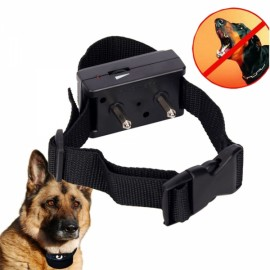 Adjustable Sensitivity Voice Control Electronic NO-Barking Pet Training Collars Dog Shock Bark Collar