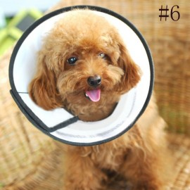 Elizabeth Protective Collar Wound Healing Cone Protection Smart Collar for Dog Cat Pet 6#