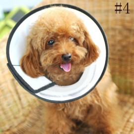 Elizabeth Protective Collar Wound Healing Cone Protection Smart Collar for Dog Cat Pet 4#