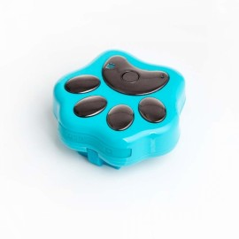 RF-V40 Mini 3G Network Waterproof Anti-lost Pet GPS Tracker for Dog Cat - Blue
