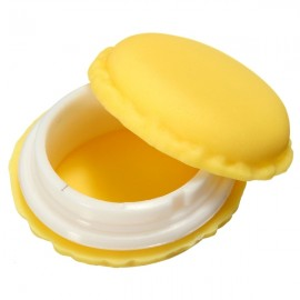 Macaron Candy Color Mini Jewelry Pill Storage Box Birthday Gift Yellow