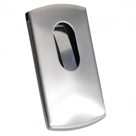Stainless Steel Business Card Credit Card Holder Case Silver