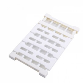 Multifunctional Telescopic Layered Rack Stainless Steel Storage Rack Wardrobe Holder White M