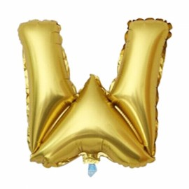 "32""Alphabet Letter Foil Balloon Birthday Party Wedding Decoration W Golden"