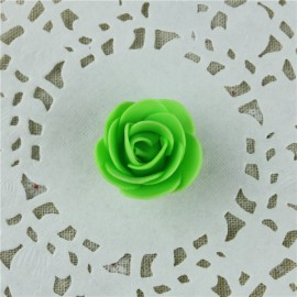 50pcs Artificial Rose PE Foam Flowers Design Wedding Party Home Decoration Green