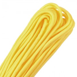 4mm Outdoor Practical Nylon Desert Parachute Cord Rope Yellow (10m Length)