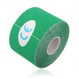 Kinesiology Muscle Care Tape Athletic Therapeutic Sports Tape Bandage 5cm x 5m Green
