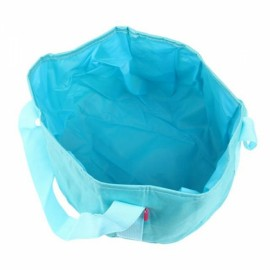 Outdoor Camping Hiking Portable Multi-purpose Folding Wash Basin Blue