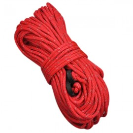 4pcs NatureHike Windproof Fluorescent Reflective Tent Rope Guy Rope for Camping Hiking 4m*4 Red