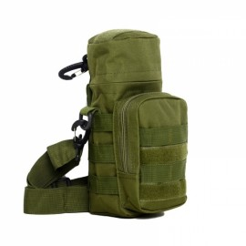 Tactical Outdoor Traveling Utility Water Bottle Bag Pouch Army Green