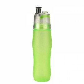 Dual Purposes Spray Moisturizing Hydrating PC Bottle for Outdoors Blue