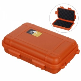 FURA Outdoor Waterproof Anti-shock Sealed Storage Container Orange L