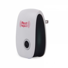 2*Ultrasonic Pest Repeller High Electronic Drive Cat Mouse Anti-bat household US Plug