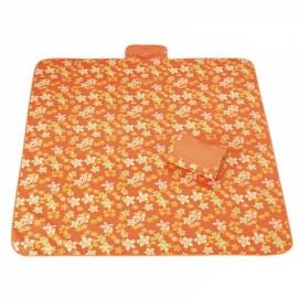 Outdoor Waterproof Camping Picnic Beach Mat Moistureproof Folding Mat Blanket 200x145cm Orange