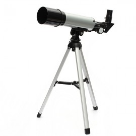 F36050M High Expansion HD Refractive Monocular Astronomical Telescope Silver
