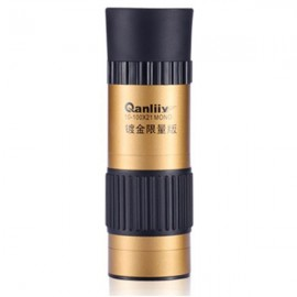 QANLIIY Mini Portable 10-100X21 Monoculars High Magnification Night Vision Telescope with Tripod Golden